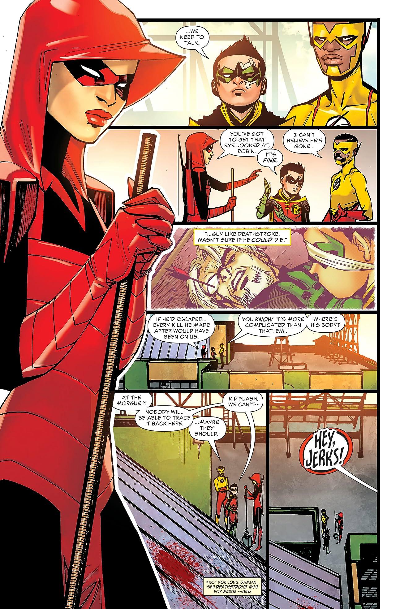 Teen Titans (2016-) #30
