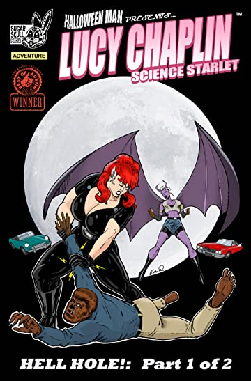 "Lucy Chaplin: Science Starlet ""Hell Hole"" #1"