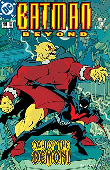 Batman Beyond (1999-2001) #14