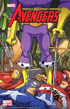 Avengers: Earth's Mightiest Heroes (2010) #4 (of 4)