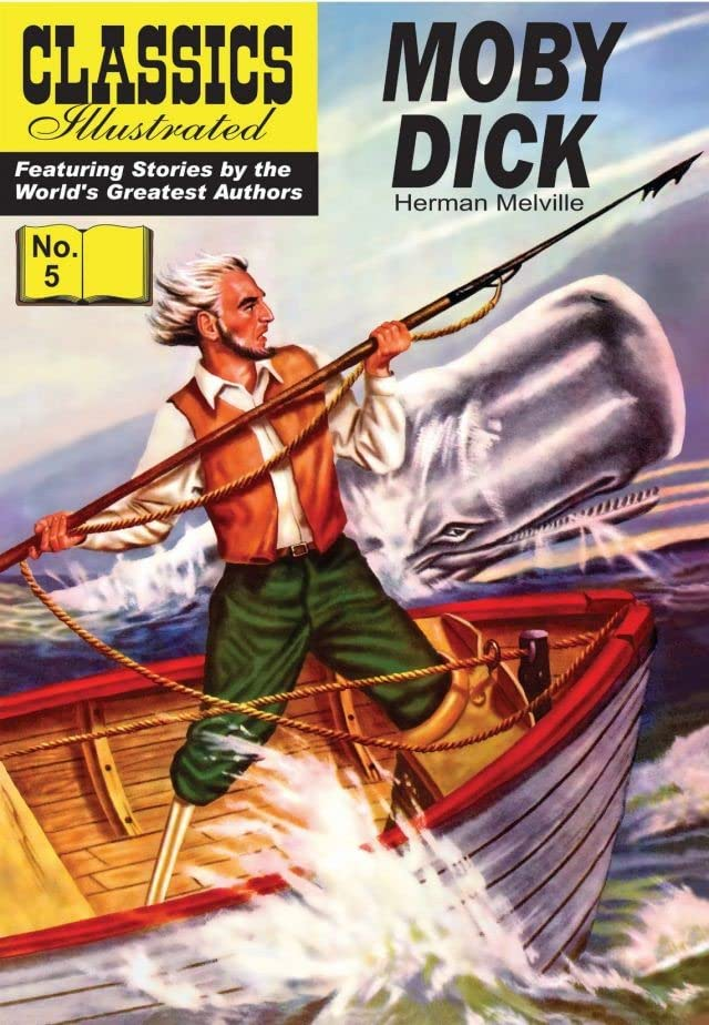 Classics Illustrated #5: Moby Dick