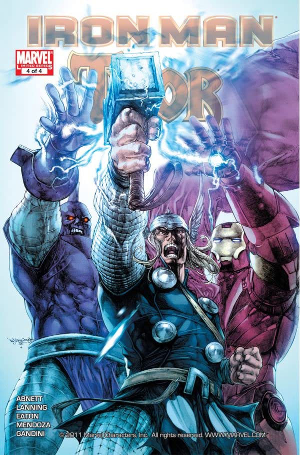Iron Man/Thor #4 (of 4)