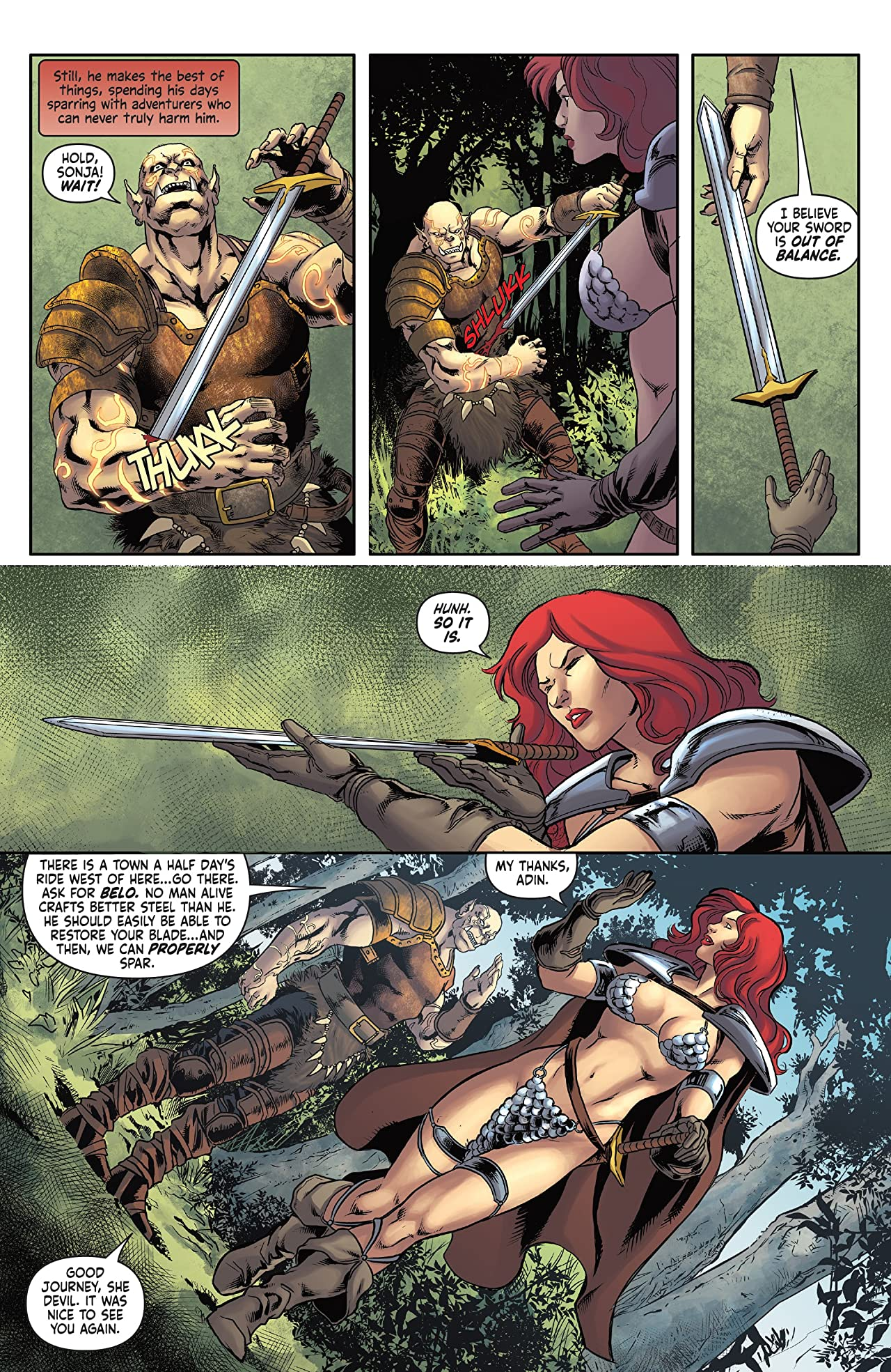 Red Sonja: Worlds Away Vol. 4: The Blade of Skath