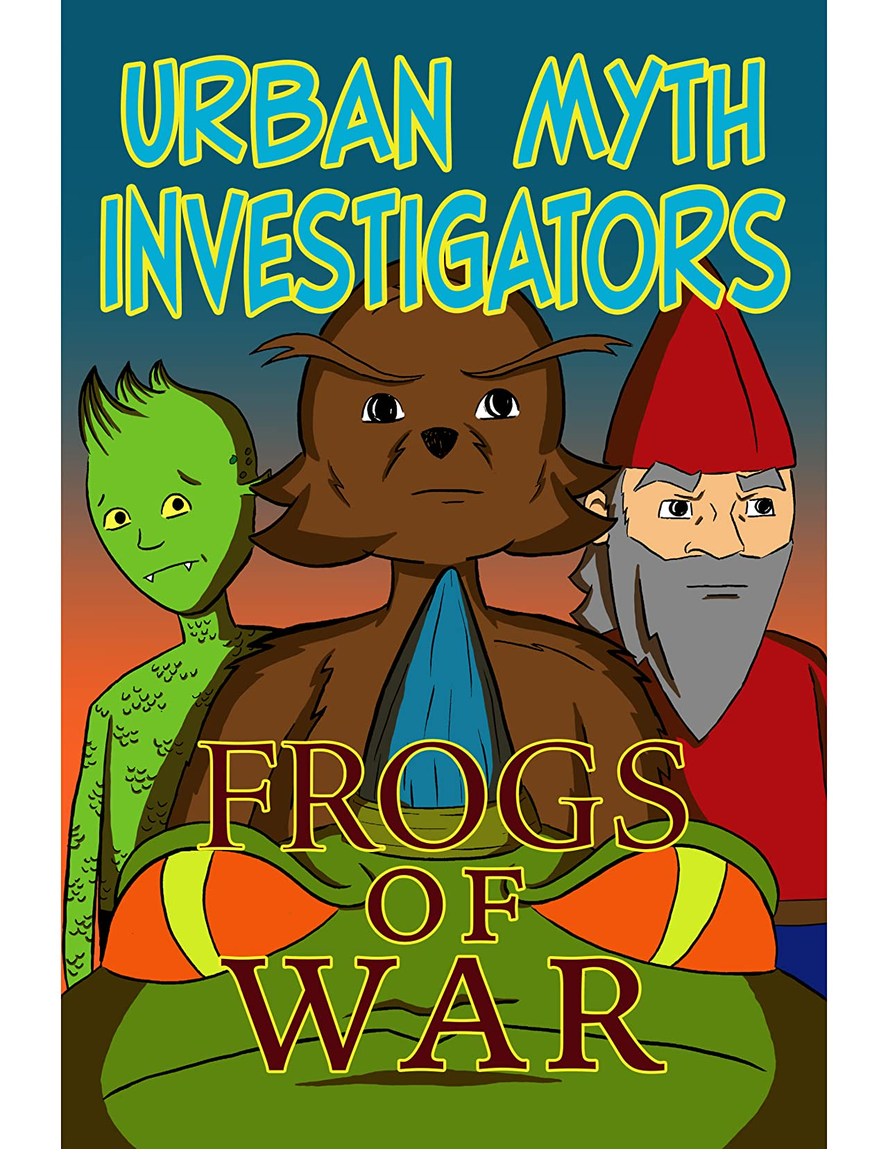 Urban Myth Investigators: Frogs of War