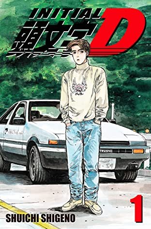 Initial D (comiXology Originals) Tome 1