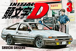 Initial D (comiXology Originals) Tome 3