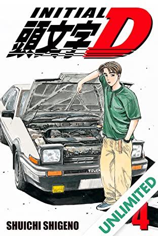 Initial D (comiXology Originals) Vol. 4
