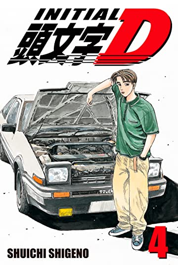 Initial D (comiXology Originals) Tome 4