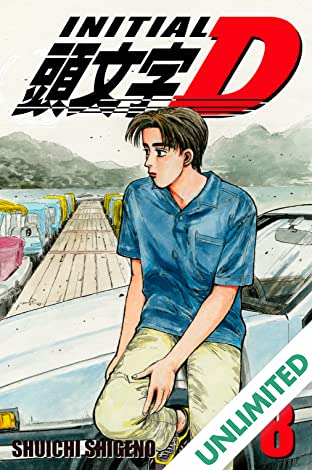 Initial D (comiXology Originals) Vol. 8