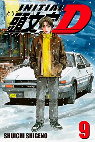 Initial D (comiXology Originals) Tome 9