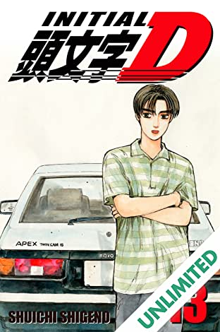 Initial D (comiXology Originals) Vol. 13