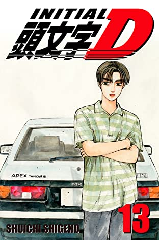 Initial D (comiXology Originals) Tome 13