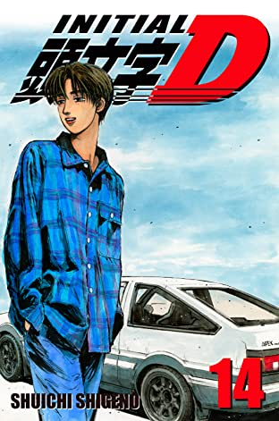 Initial D (comiXology Originals) Tome 14
