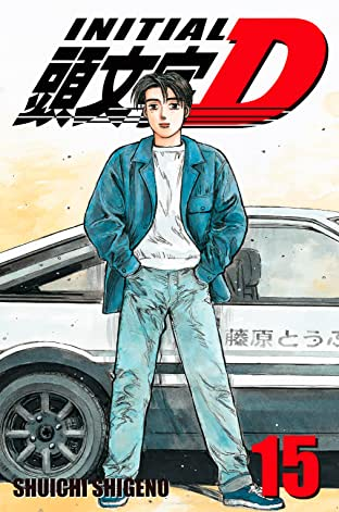 Initial D (comiXology Originals) Tome 15