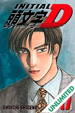 Initial D (comiXology Originals) Vol. 17