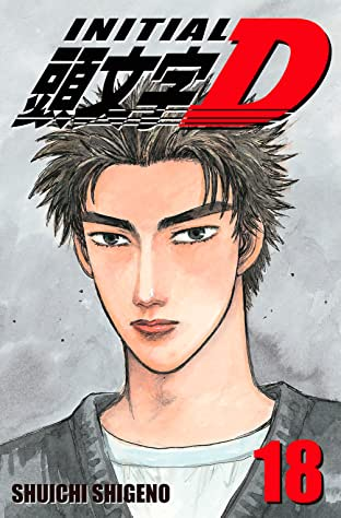 Initial D (comiXology Originals) Tome 18