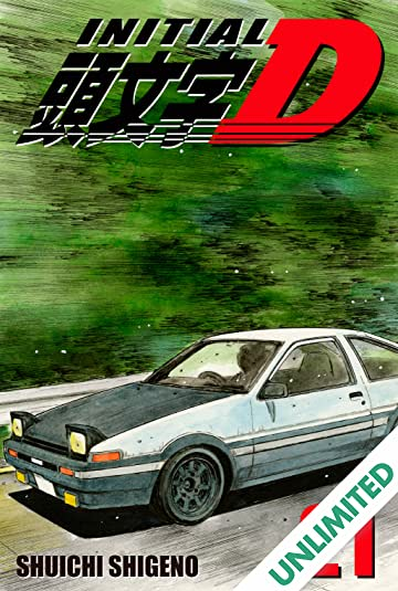 Initial D (comiXology Originals) Vol. 21