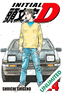 Initial D (comiXology Originals) Vol. 24