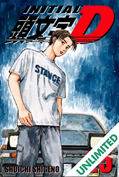 Initial D (comiXology Originals) Vol. 25