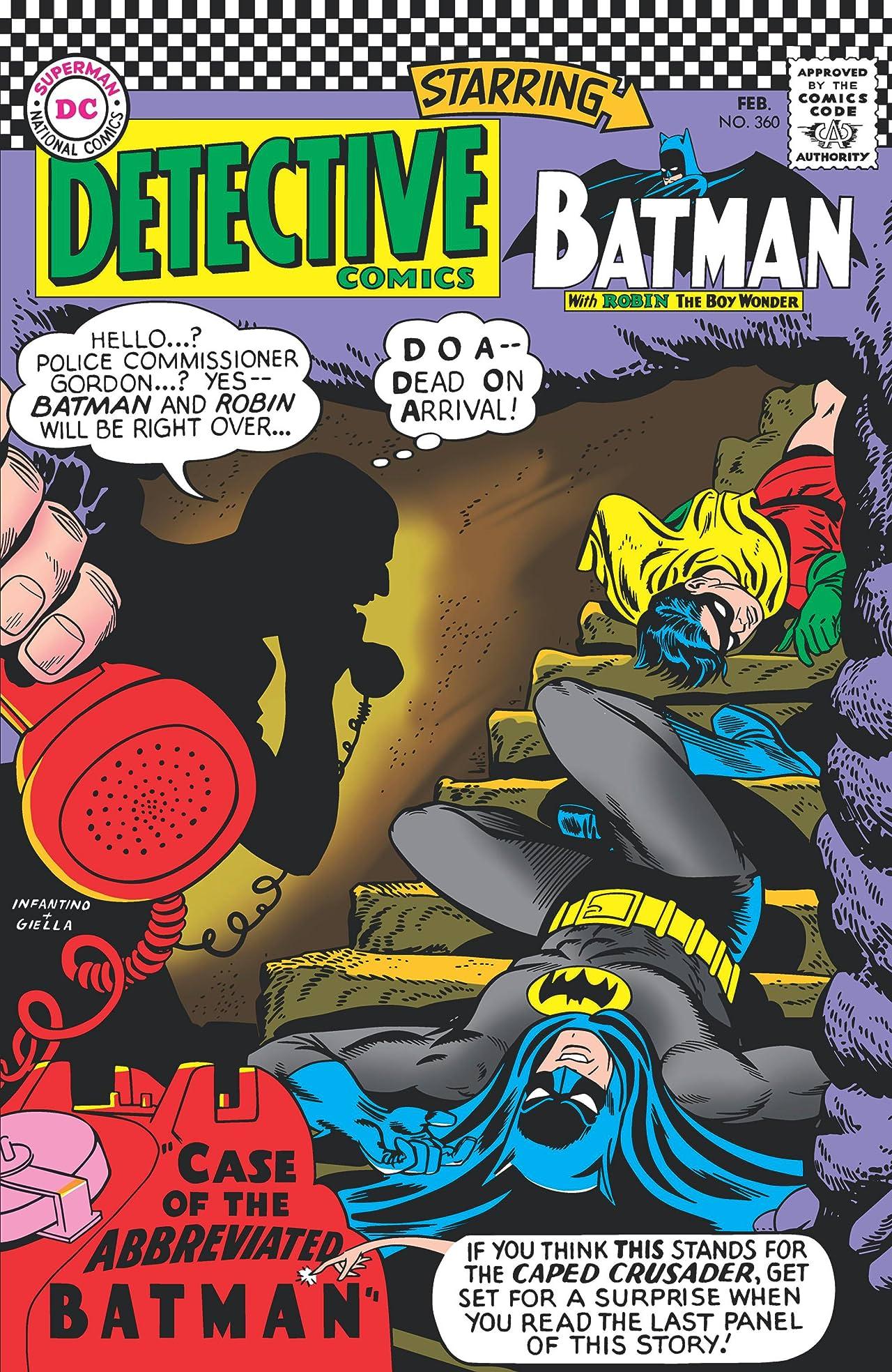 Detective Comics (1937-2011) No.360