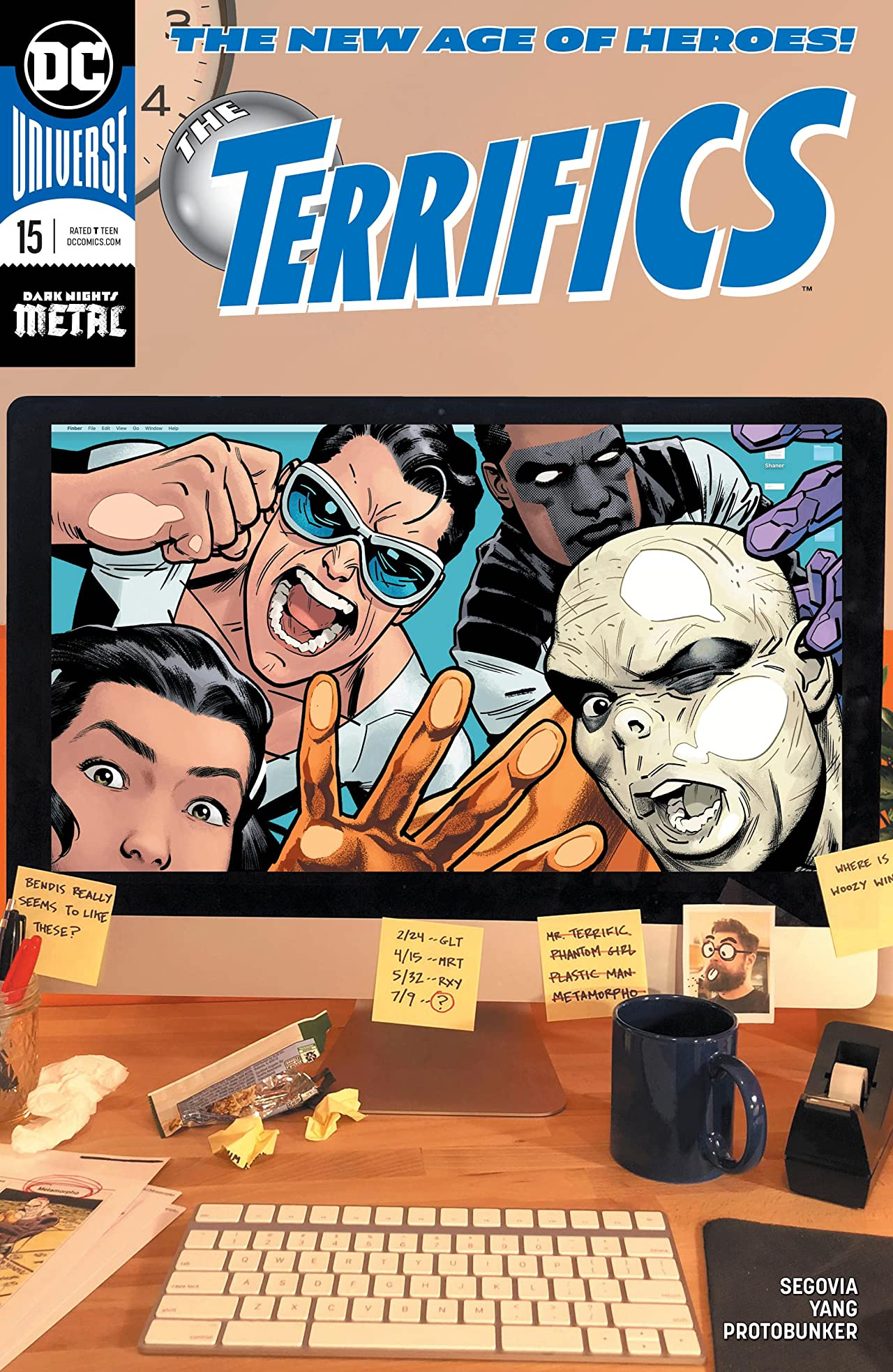 The Terrifics (2018-) No.15