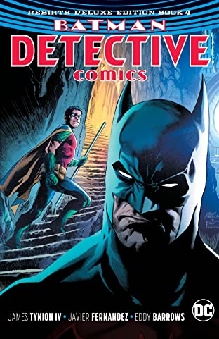 Batman - Detective Comics: The Rebirth Deluxe Edition - Book 4