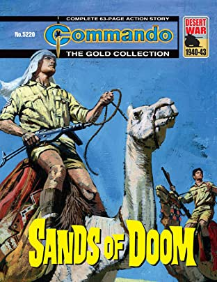 Commando #5220: Sands Of Doom