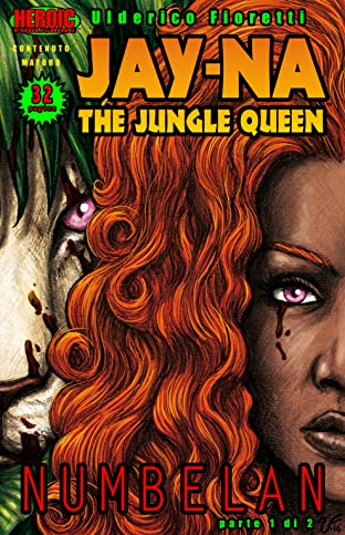 Jay-Na: The Jungle Queen (Italian) #1