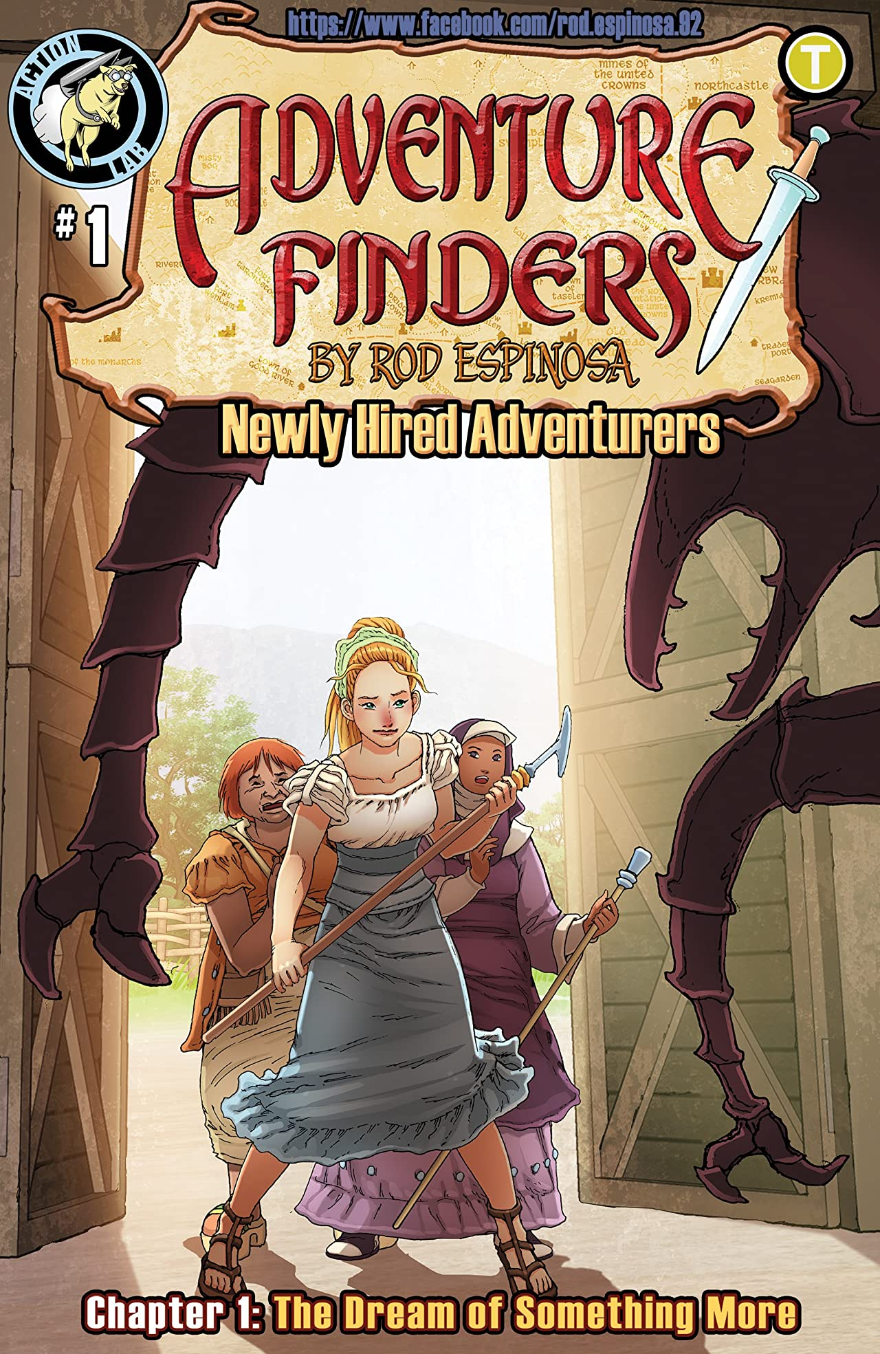 Adventure Finders: Newly Hired Adventurers #1