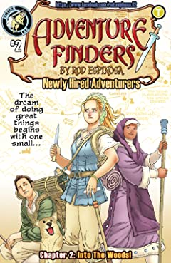Adventure Finders: Newly Hired Adventurers #2