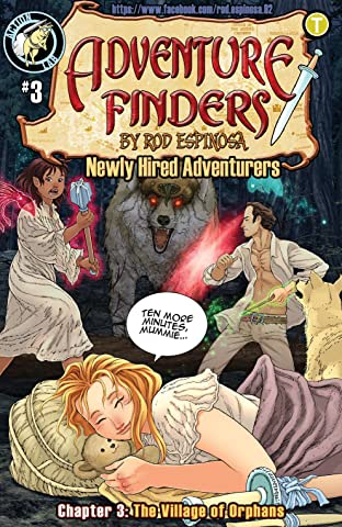 Adventure Finders: Newly Hired Adventurers No.3