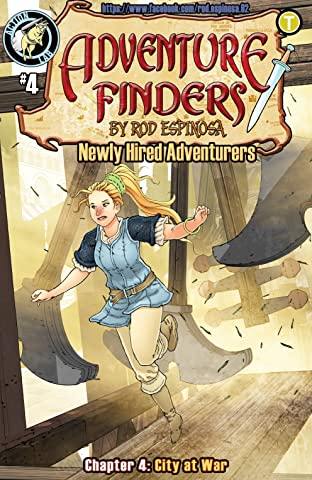 Adventure Finders: Newly Hired Adventurers No.4
