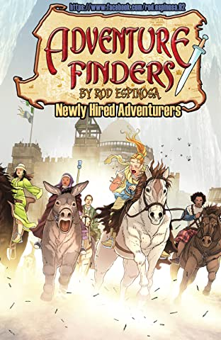 Adventure Finders Tome 1: Newly Hired Adventurers