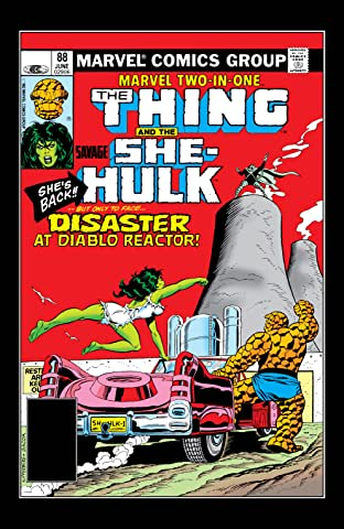 Marvel Two-In-One (1974-1983) #88