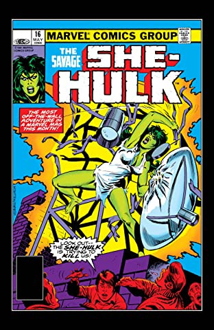 Savage She-Hulk (1980-1982) No.16
