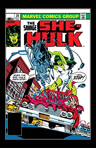 Savage She-Hulk (1980-1982) No.20