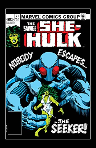 Savage She-Hulk (1980-1982) No.21