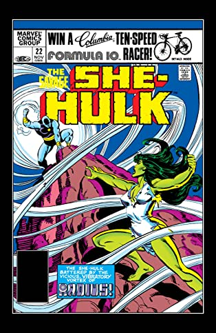 Savage She-Hulk (1980-1982) #22