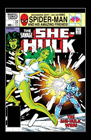 Savage She-Hulk (1980-1982) #23