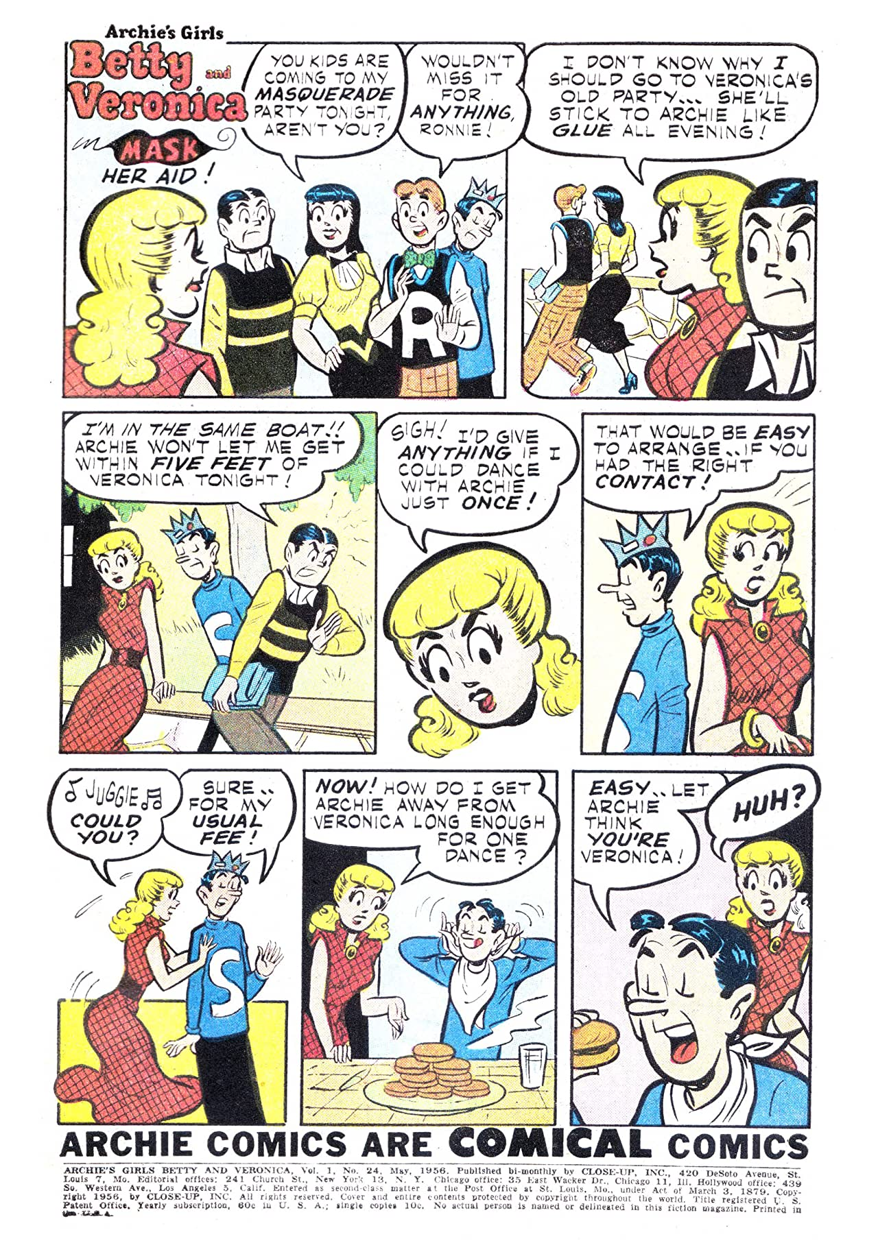 Archie's Girls Betty & Veronica #24