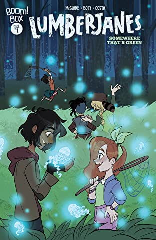 Lumberjanes: Somewhere That's Green No.1