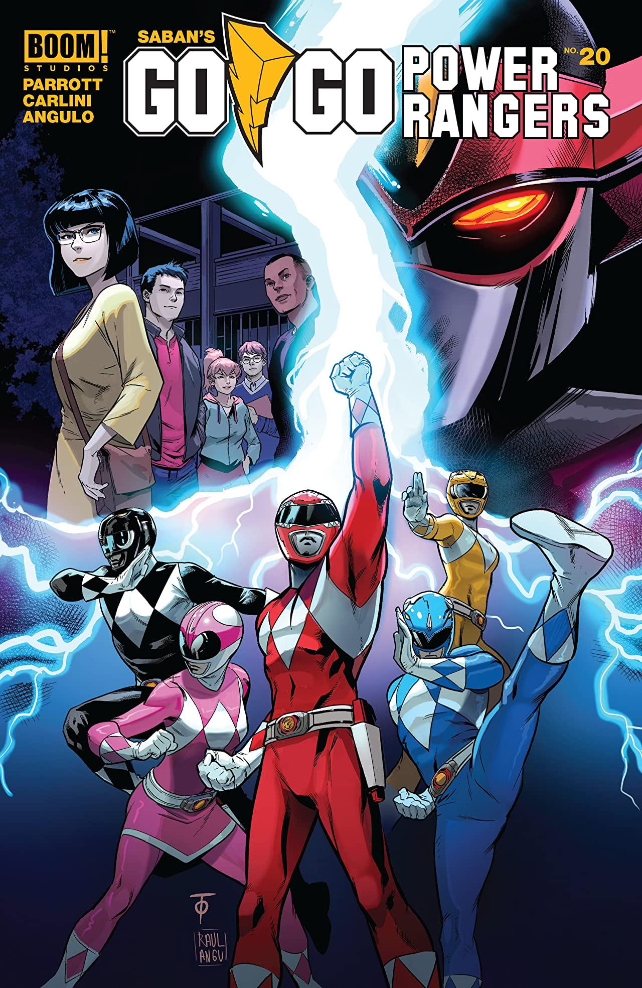 Saban's Go Go Power Rangers No.20