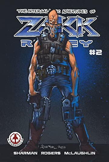 The Intergalactic Adventures of Zakk Ridley #2