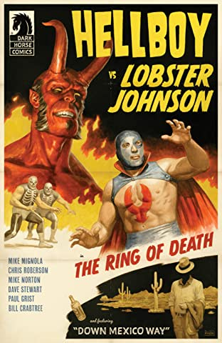 Hellboy vs. Lobster Johnson in: The Ring of Death