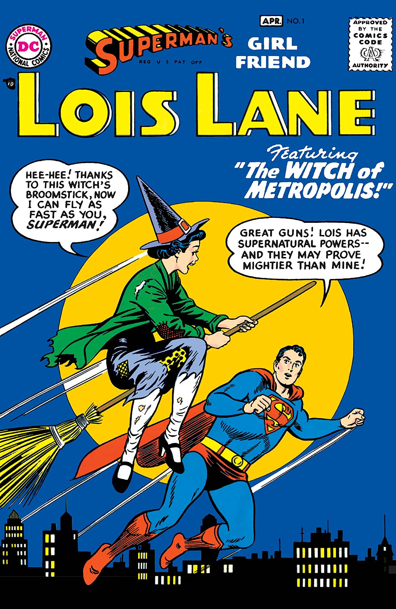 Superman's Girl Friend Lois Lane (1958-1974) No.1