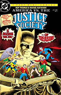America vs. The Justice Society (1985) #1