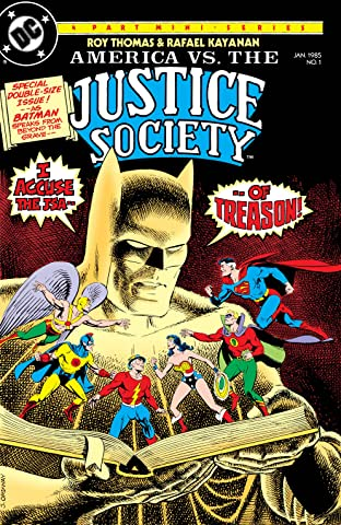 America vs. The Justice Society (1985) No.1
