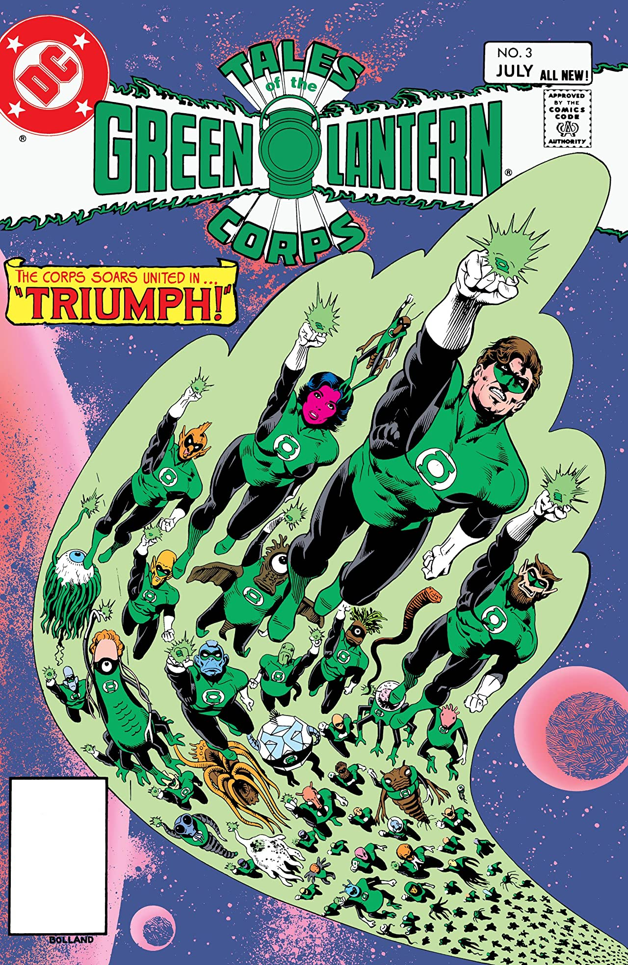Tales of the Green Lantern Corps (1981-1987) #3
