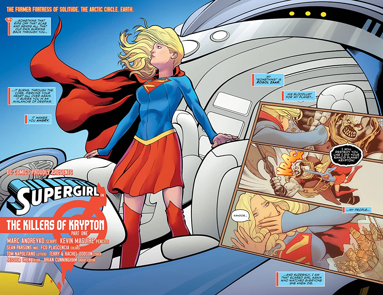Supergirl (2016-) Vol. 1: The Killers of Krypton