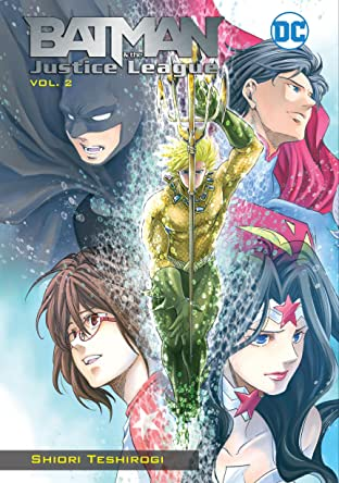 Batman and the Justice League Manga Tome 2
